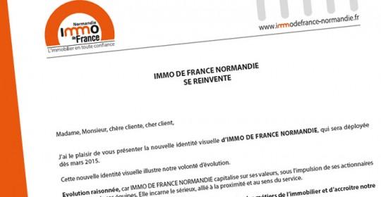 Immo de France Normandie se réinvente