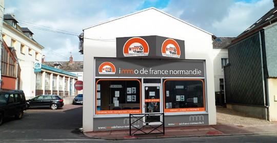 Goderville : PCL immobilier devient Immo de France Normandie