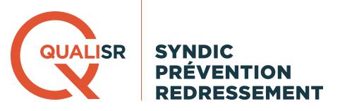 QualiSR, certification pour la prévention et redressement des copropriétés